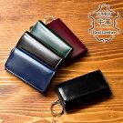iroNis/イロニスシンプルメンズキーケース鍵カード収納可能ポケット付きキーホルダー男性用