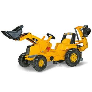 ロリートイズ rolly toys ロリージュニア CAT ジュニアトラック 813001 送料無料 子供 室内 乗り物 おもちゃ 車 乗れる 1歳 2歳 3歳 車のおもちゃ乗り物 乗用 屋外 足けり 誕生日プレゼント 誕生日
