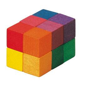 ベリ・デザイン BELI DESIGN 木のおもちゃ ベリアート・キューブ・小 BD461B 木製 知育玩具