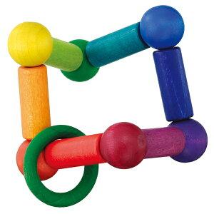 がらがら ラトル 新生児 0ヵ月 ガラガラ おしゃぶり オルゴール ベリ・デザイン 玉のグミターン BD5910(がらがら、ラトル) 知育玩具 赤ちゃん ベビー 出産祝い 子供 誕生日プレゼント 1歳 0歳 1