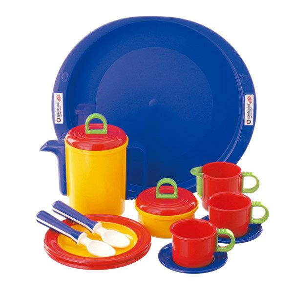 フックス FUCHS ままごと用食器 ティータイムセット FU3050 木製 ままごと 知育玩具【あす楽対応】