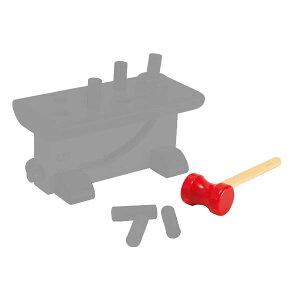ニック 補充用大工さん用ハンマー NC64423-1(知育玩具) NIC 出産祝い 木製 おもちゃ 0歳 1歳 2歳 3歳 4歳 とんかちトントン