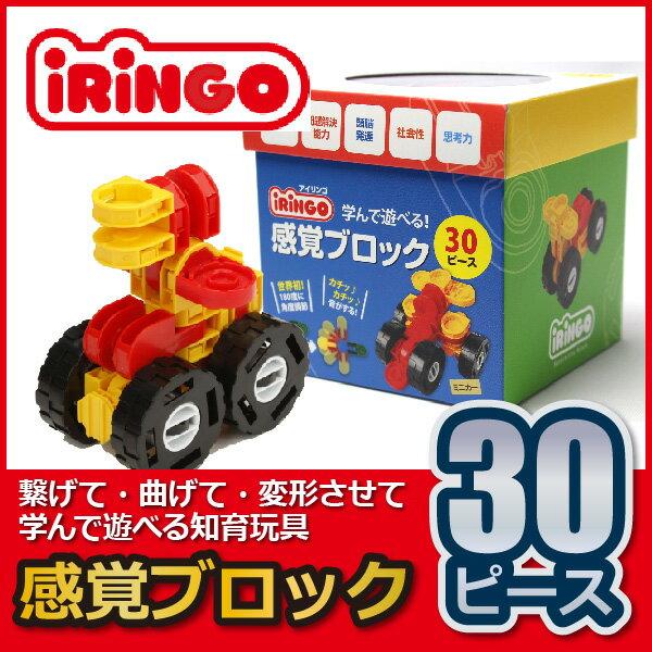 知育玩具 感覚ブロック アイリンゴ iRiNGO 30ピース IR-30N