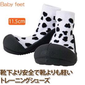 Baby feet Animal-Dalmatian (11.5cm) 4941746809235 誕生日 出産祝い 赤ちゃん ベビー 0歳 1歳 トレーニングシューズ ファーストシューズ ベビーシューズ 知育玩具