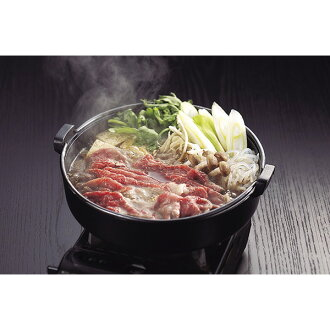 I compare by eating East-West brand cow sukiyaki (the assorted gourmet gifts gift set midyear gift year-end present)