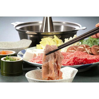 I compare by eating Kyushu brand cow shabu-shabu and set it (the assorted gourmet gifts gift set midyear gift year-end present)