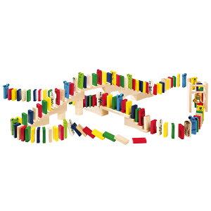 積み木 学習トイ ブロック ハバ HABA アニマルドミノレース HA1172 【あす楽対応】 送料無料 (積木) 知育玩具 HABA 知育玩具 おもちゃ ドミノ 出産祝い 1歳 2歳 3歳 4歳