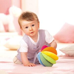 新生児 0ヵ月 布おもちゃ 布絵本 6ヵ月 12ヵ月 ハバ HABA クロースボール・レインボー HA3672 知育玩具 布おもちゃ 新生児 0ヵ月 出産祝い 赤ちゃん ベビー おもちゃ 0歳 1歳