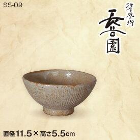 長谷園 灰釉千筋 飯碗 NSS-09 ご飯茶碗 伊賀焼