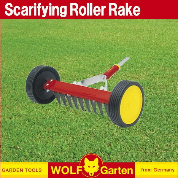 ウルフガルテン WOLF Garten ローラー式芝生清掃レーキ Scarifying Roller Rake UR-M3