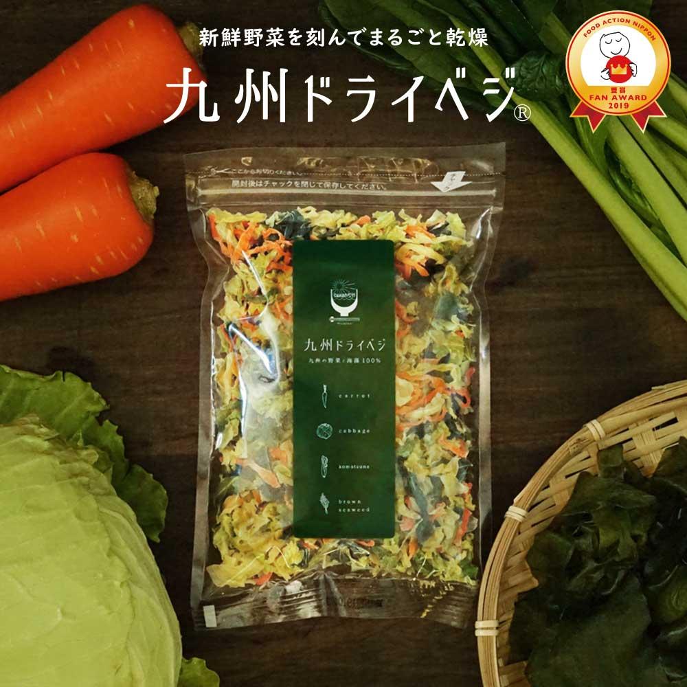 国産 乾燥野菜ミックス 九州ドライベジ100g×1袋 (戻して約500g) 九州産 ゆうパケット(ポスト投函)・代引不可 <出荷目安:ご注文後1〜2週間>