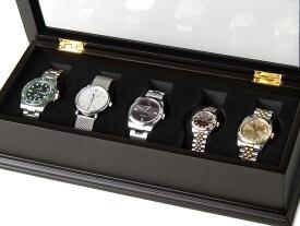 ROYAL HAUSEN ロイヤルハウゼン 時計収納ケース 腕時計時計コレクションケース ディスプレイケース 5本用 BOX 時計雑貨 新品