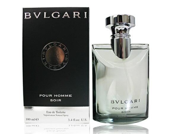 ブルガリ BVLGARI ソワール プールオム 100ml EDT オードトワレ メンズ 香水 男性用 フレグランス