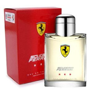 Ferrariフェラーリフェラーリレッド125mlメンズ香水FERRDEDT125