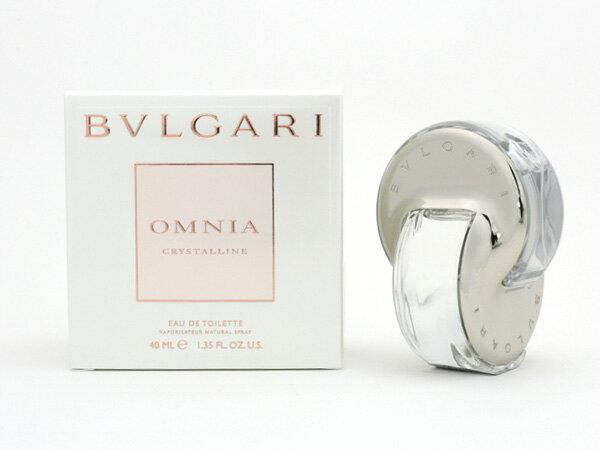 ブルガリ BVLGARI オムニア クリスタリン 40ml EDT オードトワレ レディース 香水 女性用 (香水/コスメ) P5SP