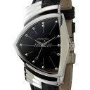 ハミルトン HAMILTON 腕時計 H24411732 ベンチュラ 文字盤:ブラック、ベルト:ブラック
