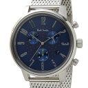 ポールスミス Paul Smith 時計 腕時計 メンズ BR4-012-71 チャーチ ストリート クロノグラフ ネイビー×シルバー 信頼の日本製 ブティ…