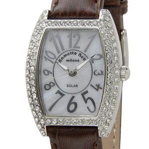 訳あり(細かいキズあり) ラメットベリー Rametto Belly ソーラー腕時計 レディース RAB2860LBR Solar Watch ソーラー ウォッチ ブラウン 新品