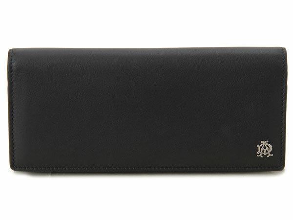 ダンヒル dunhill 長財布 リーブズ L2XR10A 財布 ブラック 新品 送料無料 DEAL