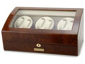 [公式] ロイヤルハウゼン ワインダー 時計収納ケース付きワインダー6本巻7本収納 Royal hausen GC03 T31 ワインディングマシーン 2年保証 新品 【送料無料】