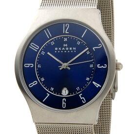 スカーゲン SKAGEN 233XLTTN 腕時計 メンズ チタニウム ブルー 新品 【送料無料】