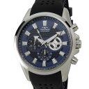 テクノス TECHNOS T6396SN クロノグラフ 24時間計 10気圧防水 ラバーベルト ブルー メンズ 腕時計 DEAL