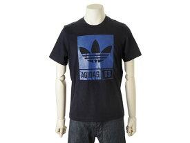 アディダス adidas オリジナルス Tシャツ AJ7719 Uネック 半袖 ブラック S 新品