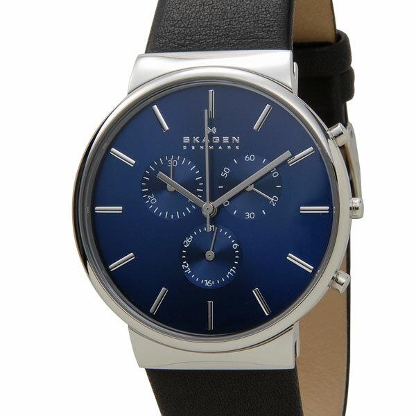スカーゲン SKAGEN 腕時計 SKW6105 アンカー クロノグラフ ブルー メンズ 時計 DEAL
