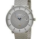 スカーゲン SKAGEN 腕時計 SKW6278 ハルド ソーラー ステンレスメッシュ ホワイト メンズ 時計
