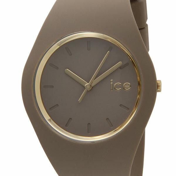 ICE WATCH アイスウォッチ GL.CAR.U.S.14 アイスグラム ベージュ ユニセックス 腕時計 001061