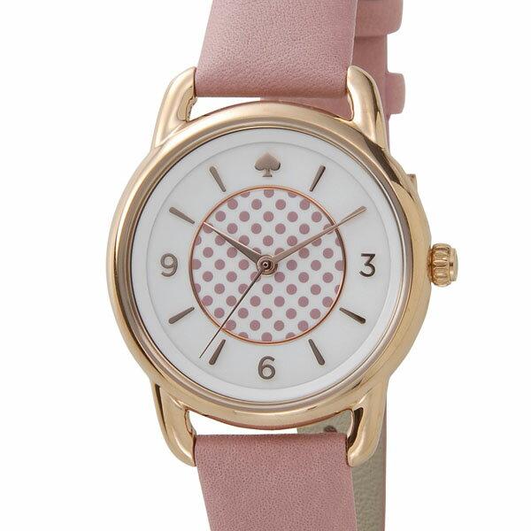 ケイトスペード kate spade レディース 腕時計 KSW1164 ボートハウス ピンク/ホワイト/ローズゴールド
