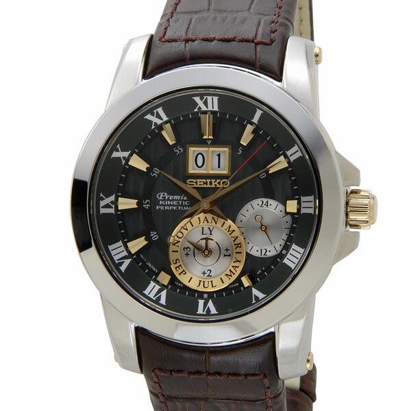 セイコー SEIKO SNP127P1 Premier プルミエ キネティック 腕時計 メンズ DEAL