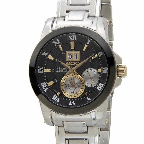 セイコー SEIKO SNP129P1 Premier プルミエ キネティック クオーツ 腕時計 メンズ DEAL