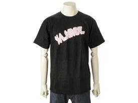 エクストララージ XLARGE メンズ 半袖 Tシャツ (S) HERO SS TEE ブラック 新品