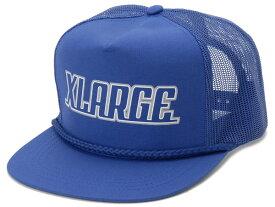 エクストララージ XLARGE キャップ 帽子 PUCK TRUCKER CAP ロイヤルブルー 新品
