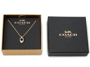 COACHコーチレディースネックレスF54517GLDゴールド