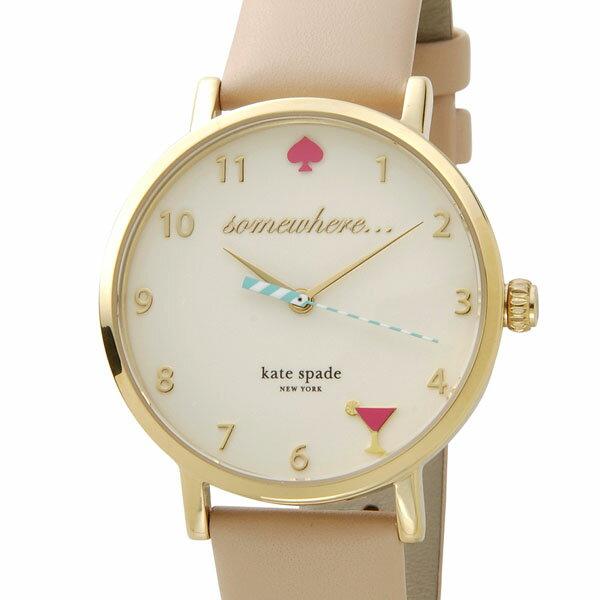 kate spade ケイトスペード レディース 腕時計 1YRU0484 Metro メトロ ハッピーアワー ピンク