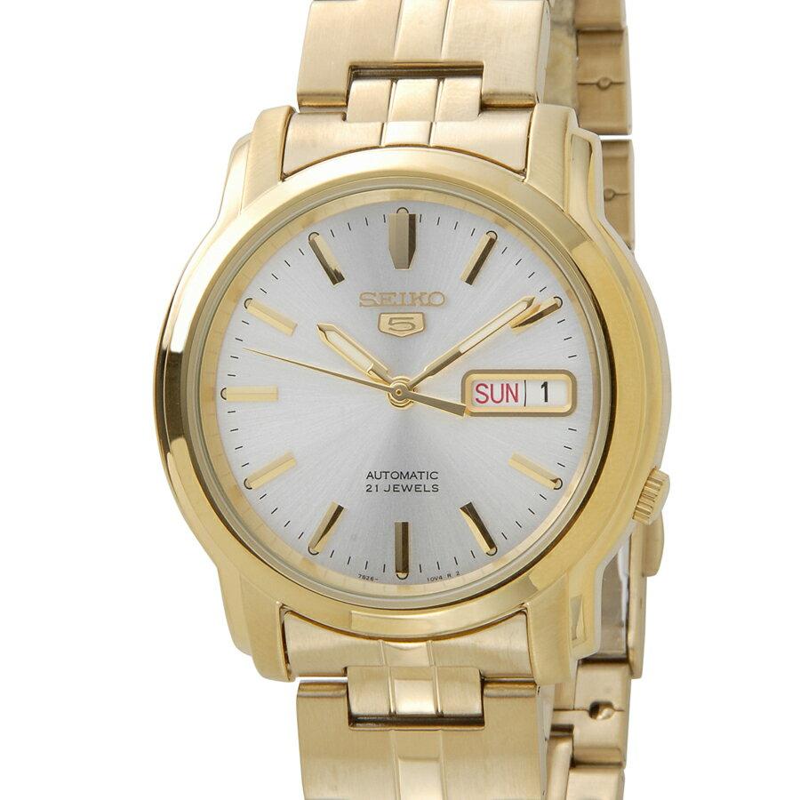 セイコー 5 ファイブ SEIKO SNKK74K1 Automatic 自動巻き ゴールド メンズ 腕時計