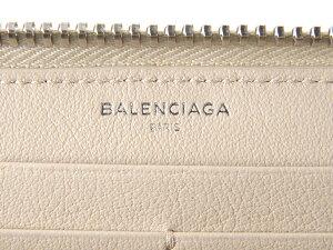 バレンシアガラウンドファスナー長財布BALENCIAGA381226DLQ0N2730PAPERZACONTZAペーパーベージュ