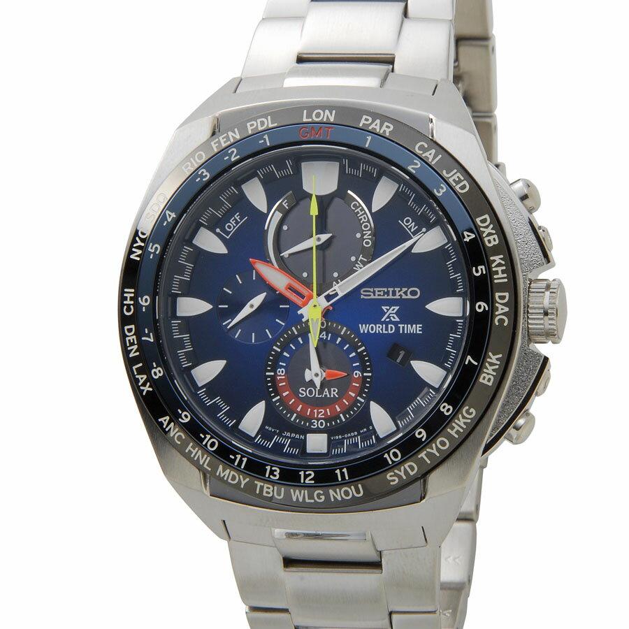 セイコー プロスペックス ソーラー クロノグラフ SEIKO PROSPEX SSC549P1 クオーツ メンズ 腕時計