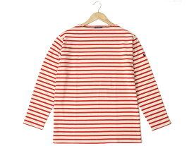 セントジェームス ウエッソン ギルド バスクシャツ SAINT JAMES 2501 MP GUILDO 長袖 ボーダー ロンT ECRU/TULIPE チューリップ レッド メンズ レディース 新品
