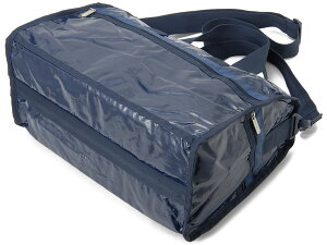 レスポートサックLeSportsacボストンバッグ7184M126ミディアムウィークエンダーネイビーパテントレディースバッグ