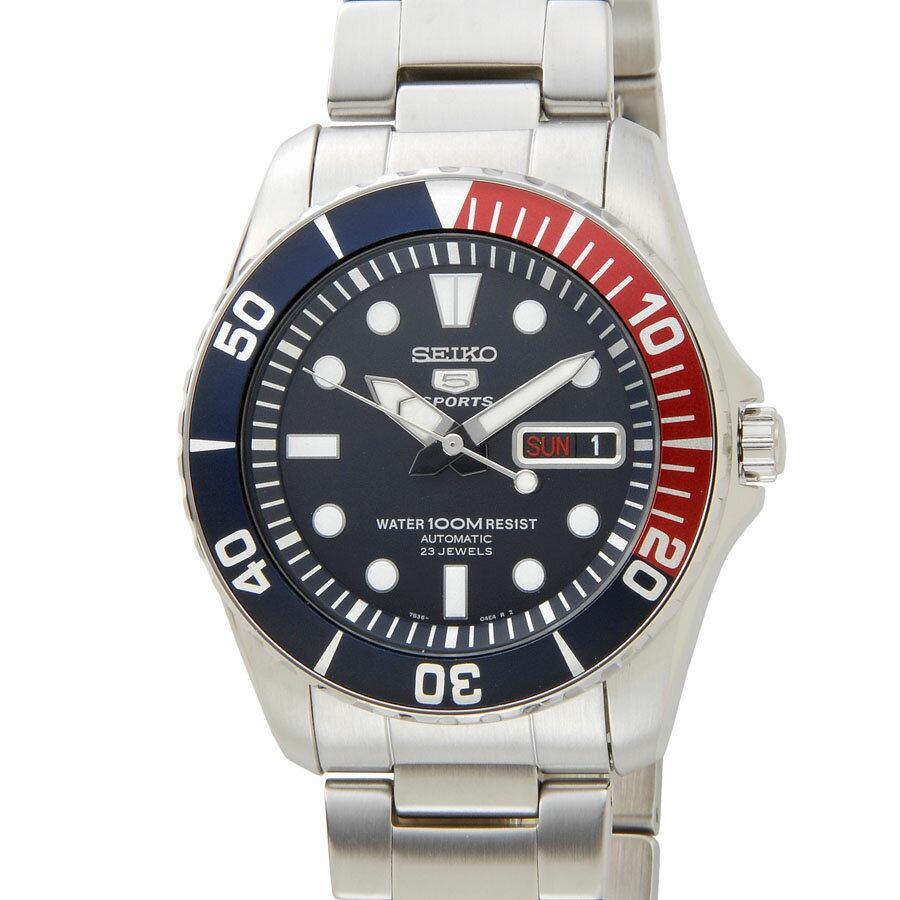 セイコー SEIKO 5 メンズ 腕時計 SNZF15K1 セイコーファイブ スポーツ オートマチック ダイバー P10SP