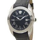 化粧箱凹み,汚れあり ヴェルサーチ VERSACE 時計 VFE120015 V SPORT II スポーツ ブラック メンズ 腕時計