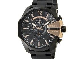 b8d881b2be クリアランスセール ディーゼル DIESEL 時計 DZ4309 Mega Chief メガチーフ クロノグラフ ブラック×ゴールド メンズ 腕時計