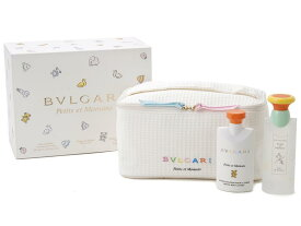 ブルガリ BVLGARI レディース 香水セット プチママン オードトワレ ボディーローション ミニボトル ギフト (香水/コスメ)