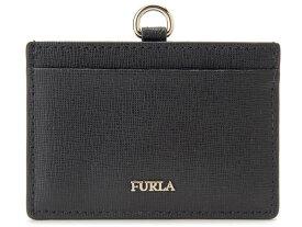 8ab9301666c2 フルラ FURLA パスケース 993511 レザー カードケース IDケース ONYX ブラック レディース 新品