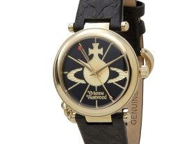 ヴィヴィアンウエストウッド VIVIENNE WESTWOOD 時計 006BKGD オーブ ゴールド×ブラック レディース 腕時計 新品 【送料無料】