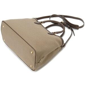 プラダPRADAトートバッグ1BA579UCWF0B16OOWジャガード2WAYショルダーバッグブラウンレディースバッグ新品