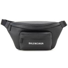増税前の大決算セール バレンシアガ BALENCIAGA ボディバッグ 552375-DLQ4N-1000 エブリデイ ウエストバッグ ブラック 新品